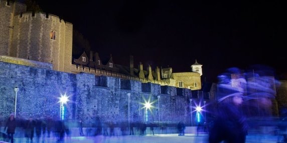 Tower of london ice rink 2019 header image